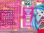 Wykreślanka Monster High