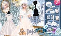 Moda ślubna z Elsą