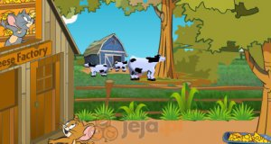 Tom and Jerry w fabryce sera