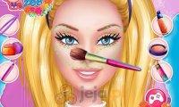 Ślubny makijaż Barbie
