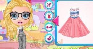 Baby Barbie i torebka Disneya