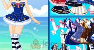 Dziewczyna marynarz