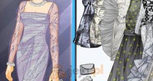 Siwe sukienki
