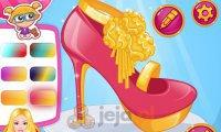 Barbie projektuje buty