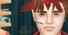 Zwariowana fryzura Justina Biebera