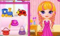 Baby Barbie i bajkowe fryzury