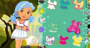 Dora i jesienny spacer