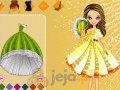 Laleczka w balowej sukience