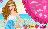 Księżniczka na plaży