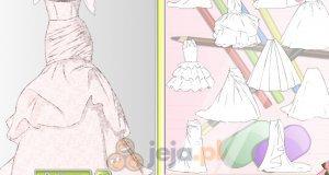 Projektowanie - Suknia ślubna