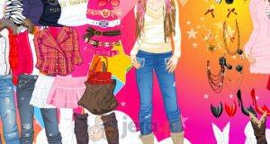 Zimowa moda nastolatki