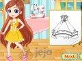 Projektowanie sukienki z mangi