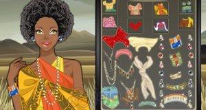 Afrykański makijaż