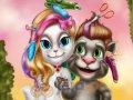 Zwariowana fryzura Toma i Angeli