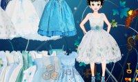 Niebieskie sukienki