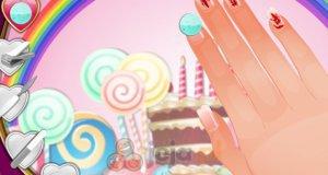 Cukierkowe paznokcie