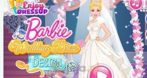 Suknia ślubna Barbie
