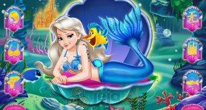 Elsa jako syrenka