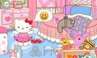 Hello Kitty z różowym  iPhonem