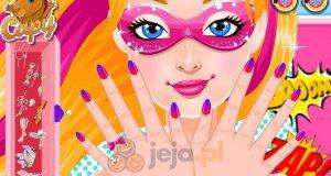 Manicure Super Barbie
