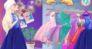 Barbie i Elsa jako druhny