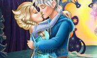 Elsa całuje Jacka