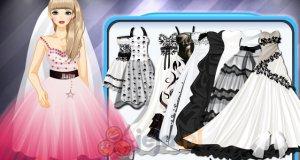 Punkowe suknie ślubne