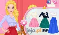 Barbie i plisowane spódnice