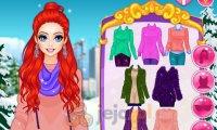 Zimowa stylizacja Arielki