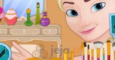 Makijaż kiedyś i teraz: Elsa