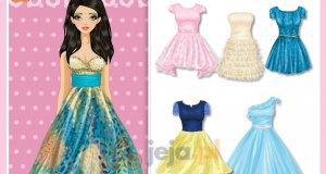 Ubrania godne księżniczki