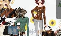 Leopardzie ubranie