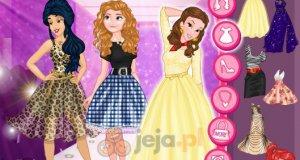 Księżniczki Disneya i pokaz mody