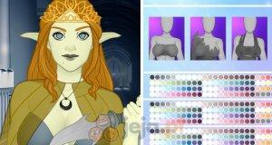 Kreator postaci: Księżycowy elf