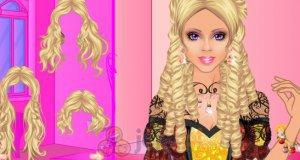 Włosy Barbie