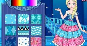 Zaprojektuj suknię Elsy