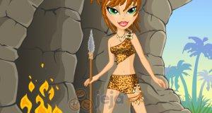 Dziewczyna z ery kamienia