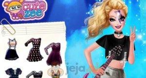 Rockowy styl Barbie