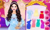 Barbie jak księżniczka