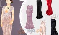 Suknia wieczorowa dla ciężarnej