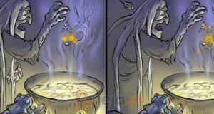 Dziecko czarownicy - różnice