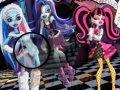 Monster High - znajdź liczby