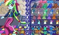 Rainbow Dash na parkiecie