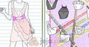 Projektowanie - Sukienka świadkowej