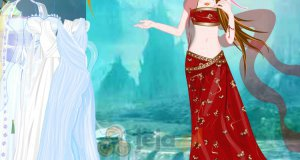W chińskiej sukience