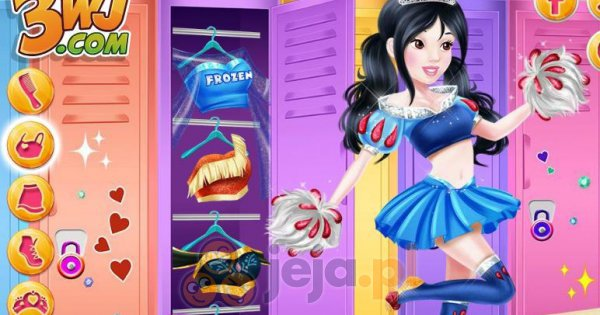 Cheerleaderki Disneya