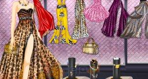 Gepardzie suknie