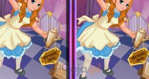 Alicja w Krainie Czarów - różnice