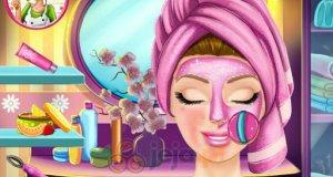 Prawdziwy ślubny makijaż Barbie