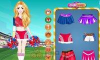 Opalona cheerleaderka